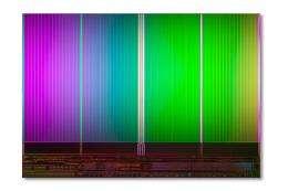 Intel micron sample 20nm NAND flash