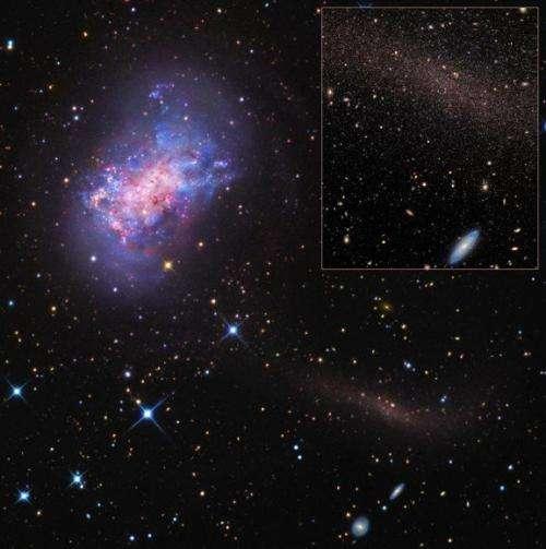 Little galaxies are big on dark matter