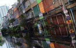Low-lying Bangkok lies just 30 kilometres (18 miles) north of the Gulf of Thailand