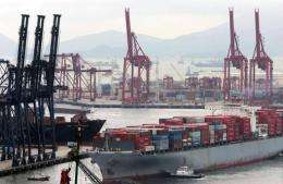 Maritime transport accounts for roughly three percent of world emissions of greenhouse gases