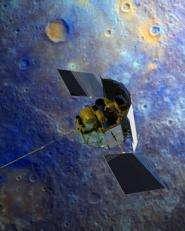 MESSENGER spacecraft to swing into orbit around Mercury