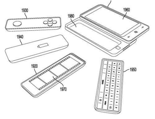 Microsoft files patent for interchangeable-devices phone