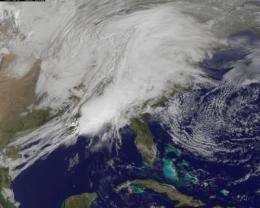 NASA and other satellites keeping busy with this week's severe weather