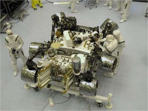 NASA ready for November launch of car-size Mars rover