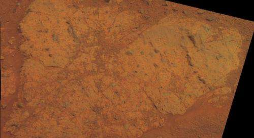 NASA Rover Inspects Next Rock at Endeavour