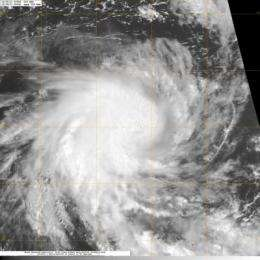 NASA sees birth of first Southern Indian Ocean season tropical storm