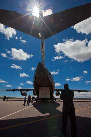 NASA's twin craft arrive in Florida for moon mission