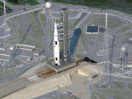 NASA touted its new rocket design as the most powerful rocket since the Saturn V put US astronauts on the moon