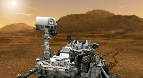 New animation depicts next Mars rover in action