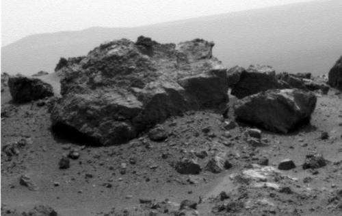 New rover snapshots capture endeavour crater vistas