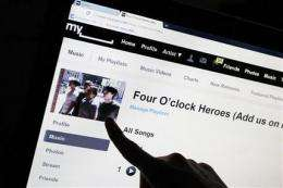 News Corp sells MySpace for $35M mostly in stock (AP)
