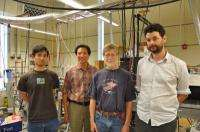 New way to produce antimatter-containing atom discovered