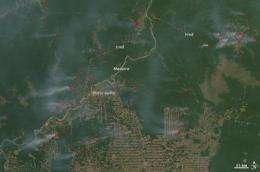 Ocean temperatures can predict Amazon fire season severity