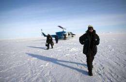 Office of Naval Research Supports Exercise at Arctic Test Range