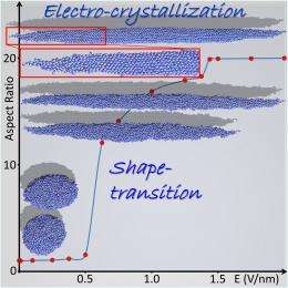 Physicists turn liquid into solid using an electric field
