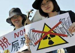 Organisers estimated 5,000 took part in the anti-nuclear march