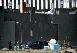 Oskarshamn nuclear power plant  in southern Sweden