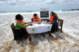 Oxfam has appealed to the UNFCCC to slash greenhouse gases and activate a planned fund to help poor countries