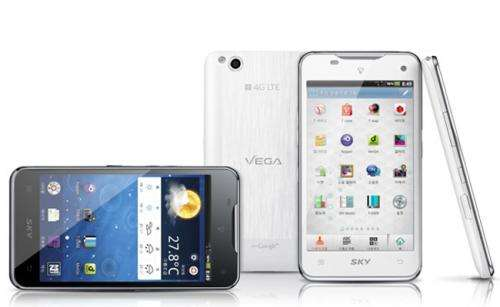 Pantech Vega LTE smartphone works by wave of the hand (w/ video)