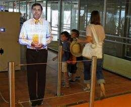 Paris airport tests 'virtual' boarding agents (AP)