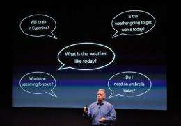 Phil Schiller discusses the new personal assistant called Siri