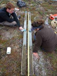 Ice sheets can expand in a geologic instant, Arctic study shows