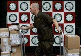 Power grid change may disrupt clocks
