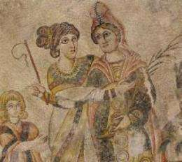 Research to analyze the images of women in Roman mosaics