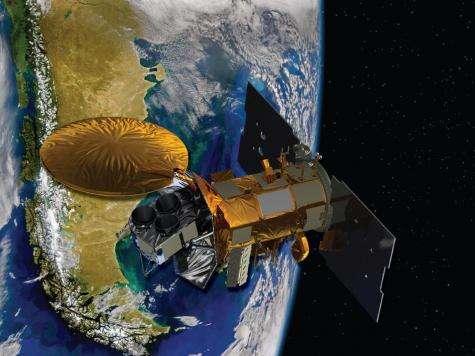 Salt-seeking spacecraft arrives at launch site