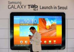 Samsung is the world's second-largest mobile phone maker