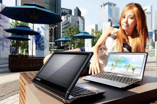 Samsung NC215 solar netbook arrives in Korea