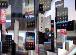 Samsung was due to unveil a Galaxy Nexus smartphone on Tuesday