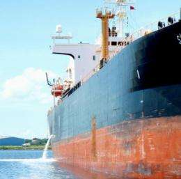 Scientists block ship-borne bioinvaders before they dock