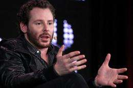 Sean Parker, co-foundered the controversial music-sharing service Napster in the 1990s