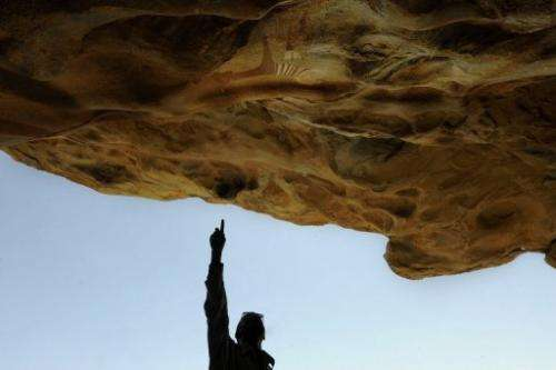 Some of the cave paintings in Somalia date back 5,000 years or more