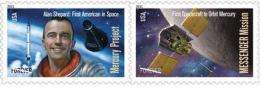 Stamp honors 1st American in space 50 years later (AP)
