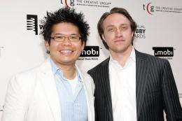Steve Chen (L) and Chad Hurley (R)