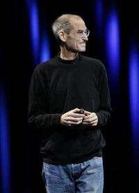 Still-frail Jobs appears to hail Apple's latest (AP)