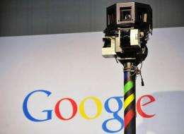 """Street View lets users view panoramic street scenes on Google Maps and take a virtual """"walk"""" through cities"""