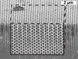 Team develops method for creating 3D photonic crystals