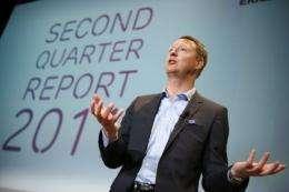 The chief executive of Swedish telecom equipment maker Ericsson, Hans Vestberg