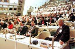 The Kyoto Protocol, reached in 1997, is the only global treaty that sets down targeted curbs in global emissions