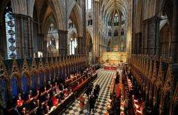 The royal wedding ceremony will be held in Westminster Abbey and streamed live on YouTube