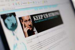 The whistleblowing website WikiLeaks denied Tuesday that it has revealed the names of some of the sources