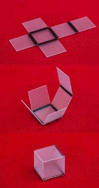Using Light, Researchers Convert 2-D Patterns Into 3-D Objects
