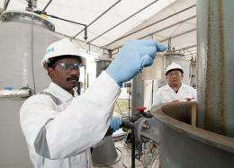 Water purification unit generates its own energy