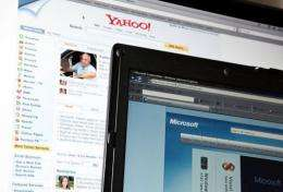 Yahoo!, Microsoft and AOL unveiled a joint advertising agreement on Tuesday designed to take on Internet giant Google