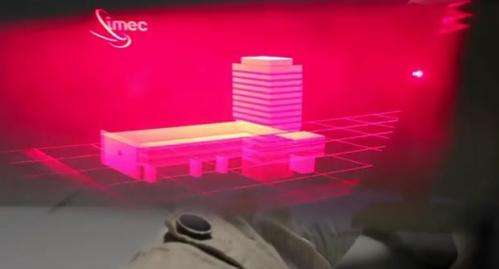 Holographic 3-D looks tantalizingly closer in 2012