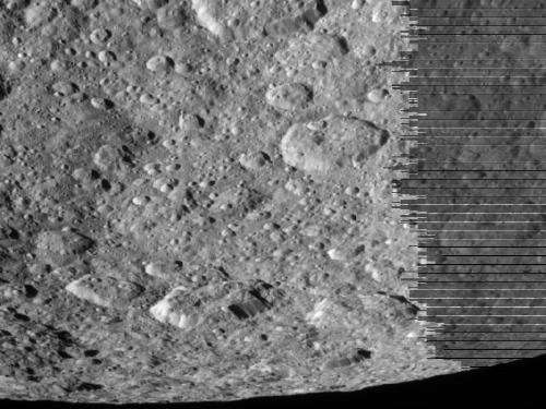 Cassini Captures New Images of Icy Moon