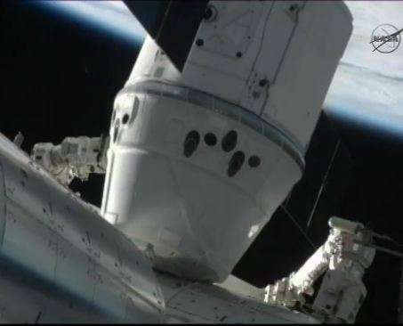 SpaceX's next cargo run to space station in October